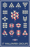 17 Wallpaper Groups by M-C-Escher-Style
