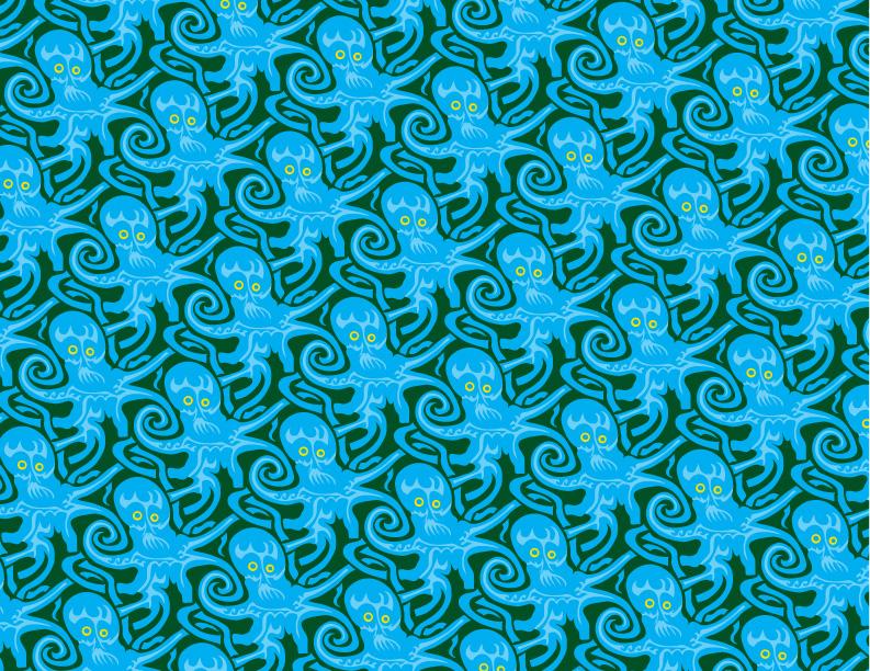 Octopattern by M-C-Escher-Style on DeviantArt