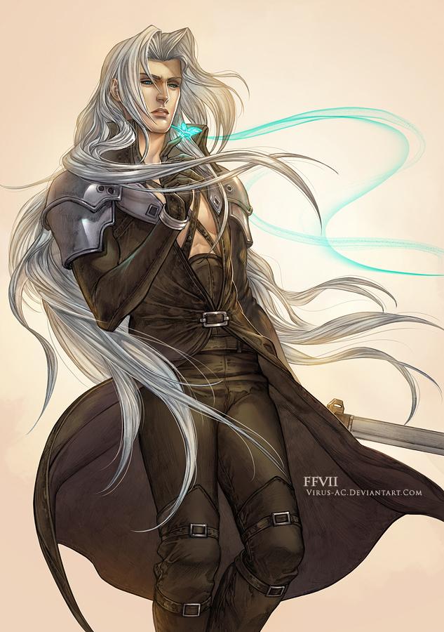 Sephiroth pixel art