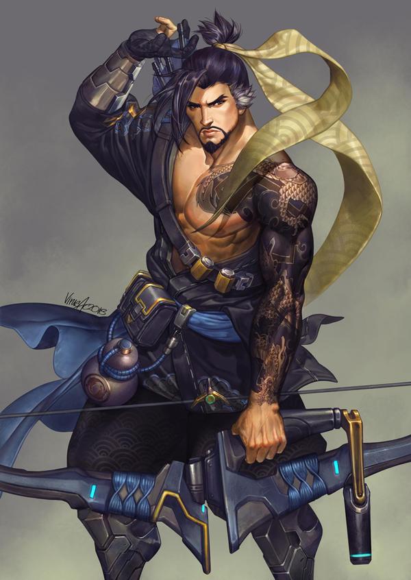 OW Hanzo Shimada