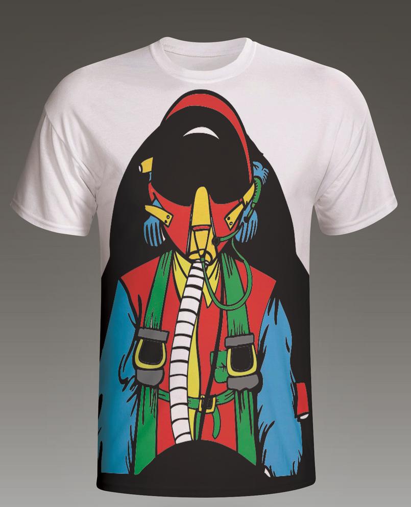 Pilot T-Shirt by jeidesigns