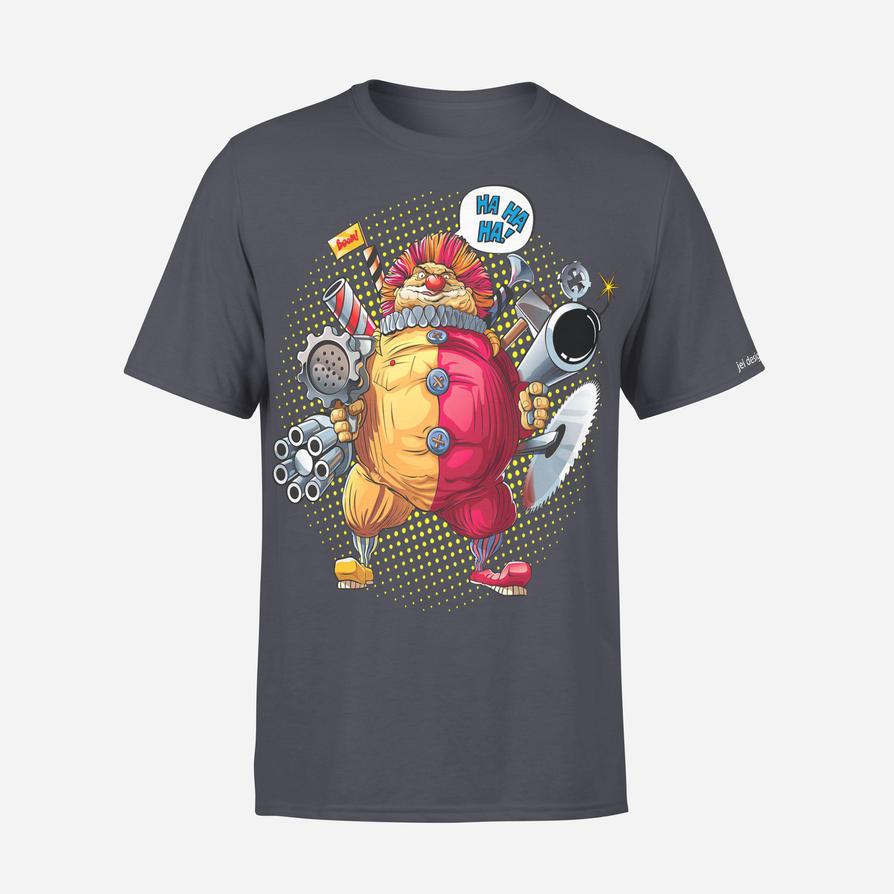 fat clown by jeidesigns