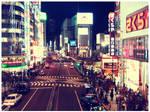 Tokyo Night by eloque