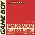 Minimal Game Posters - Pokemon Red Version