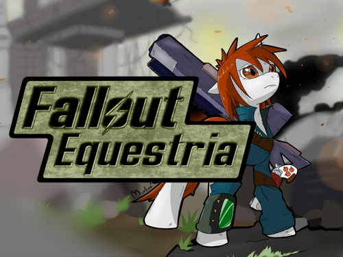 Fallout: Equestria - Cover (French translation) by Waddle-Moogle