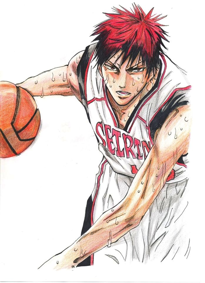 Kagami (Kuroko no Basket) by MinAhVanilla on DeviantArt