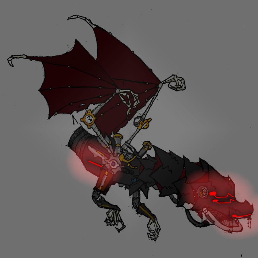 Mechanical Reaper by macietate on DeviantArt