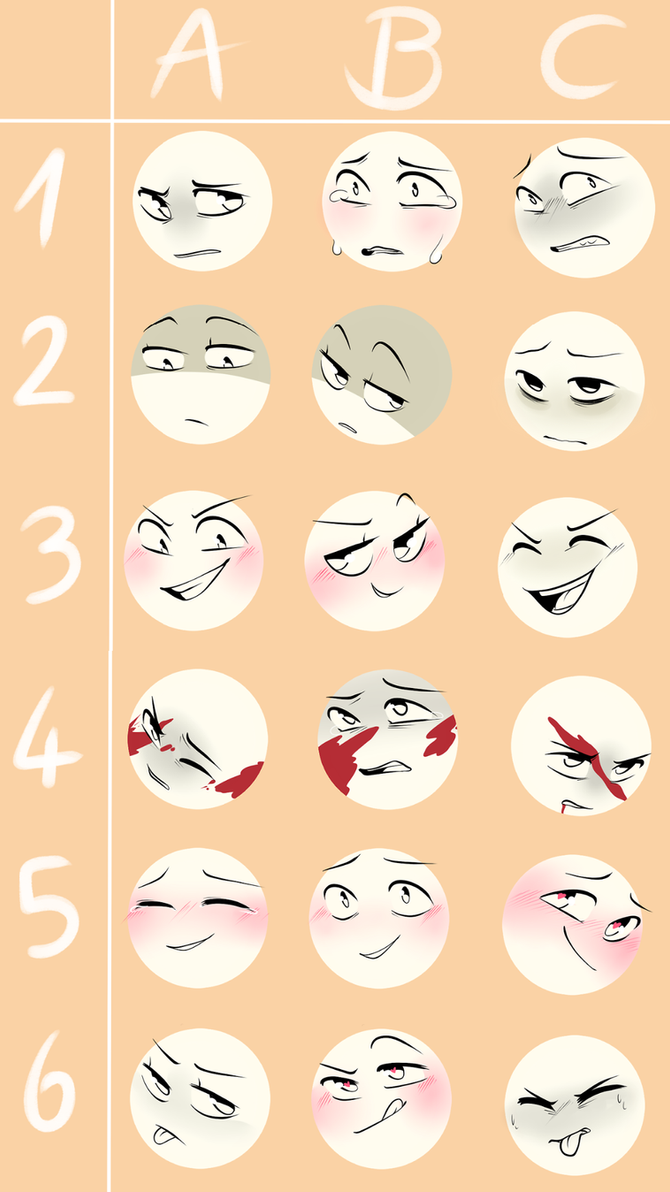 expressions_meme__challenge__by_firefoxgirl96 dbo1ks8 expressions meme (challenge) by firefoxgirl96 on deviantart