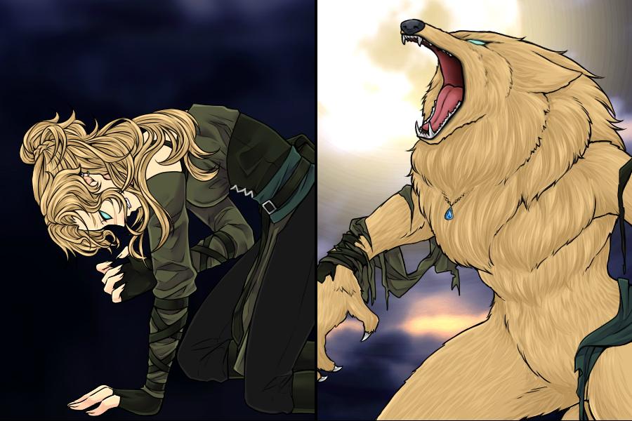 Werewolf Transformation by Firefoxgirl96 : FemaleWerewolves