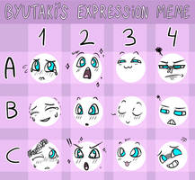 Expressions meme 4 by Firefoxgirl96