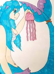 Mermay day: 18 Jelly Fish by Firefoxgirl96
