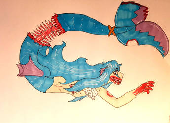 Mermay day: 19 Zombie by Firefoxgirl96