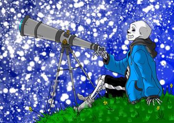 Stargazing [Collab] by Firefoxgirl96