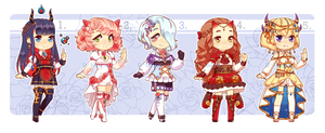 Adoptable Batch 12 [Open 2/5] by D-Liwca