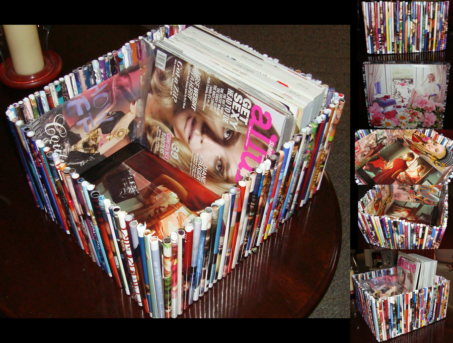 3d collage aka a magazine box by gummipwns on deviantart. Black Bedroom Furniture Sets. Home Design Ideas