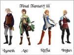 Final Fantasy III  Wallpaper