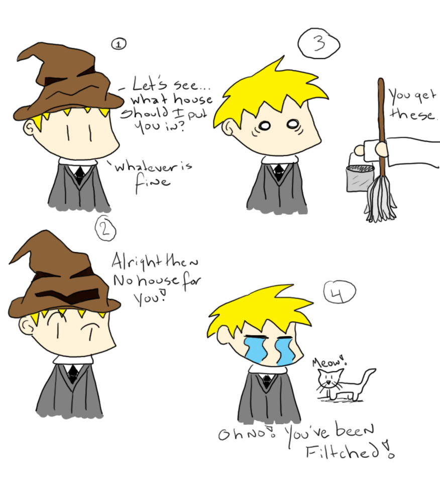 Sorting Hat :Fitched: by searas