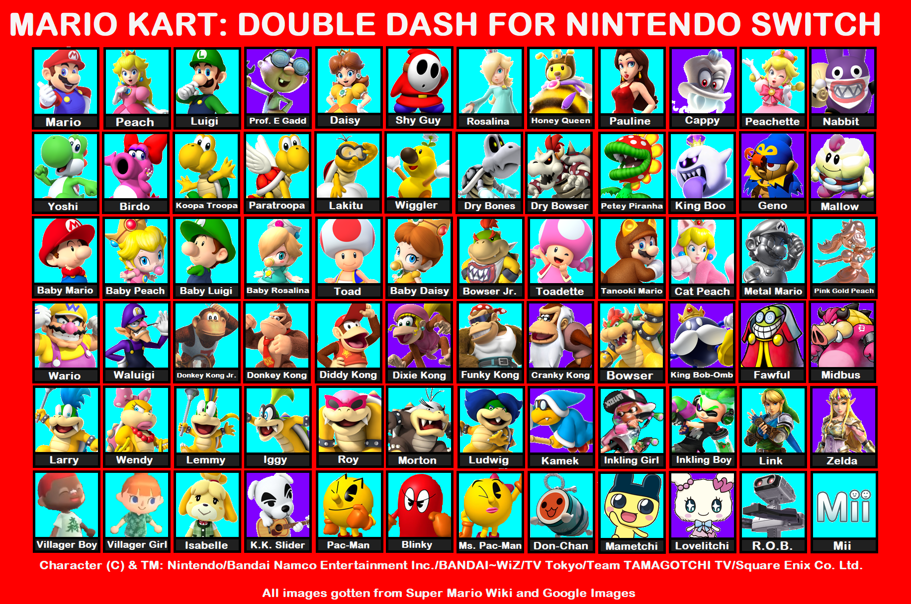 Mario Kart Double Dash For Nintendo Switch By Timothythepainter On Deviantart