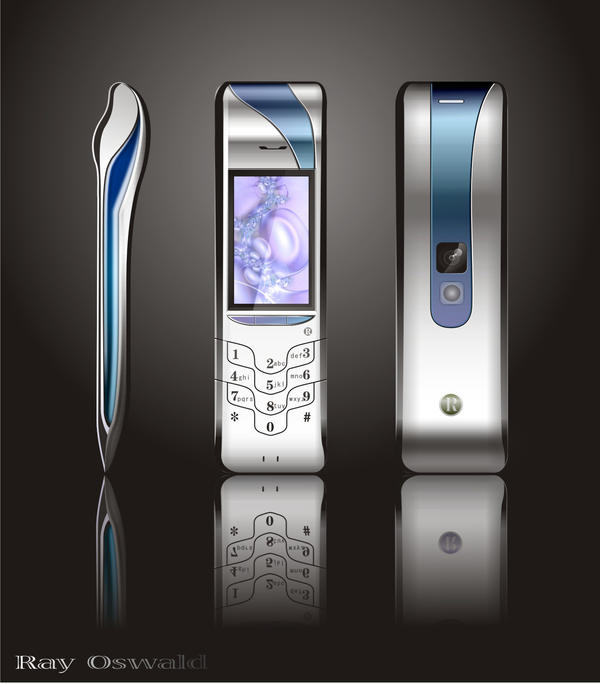 A cellphone design by rayoswald