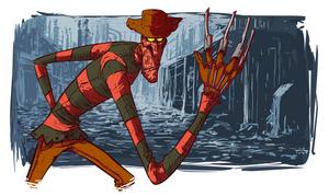 Freddy Krueger by thurZ
