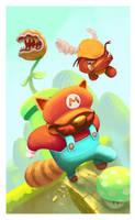 Mario Bros by thurZ
