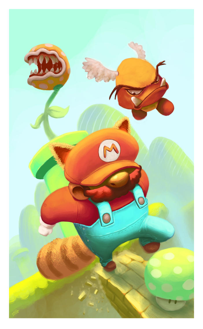 Mario Bros by thurZ