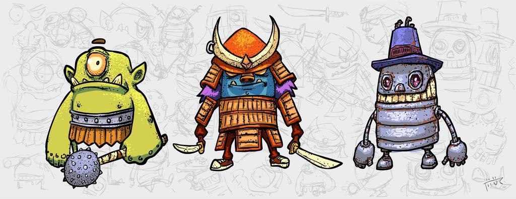 Samurairobociclope by thurZ