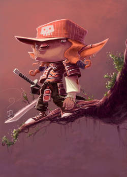 Samurai Elf