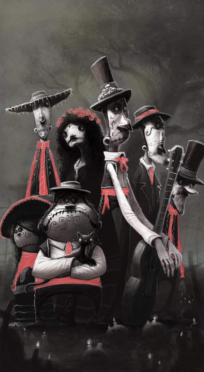Los Muertos by thurZ