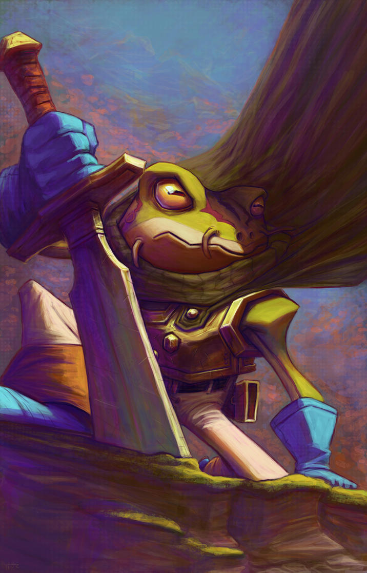 Frog - Chrono Trigger by thurZ