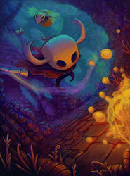 Hollow Knight by thurZ