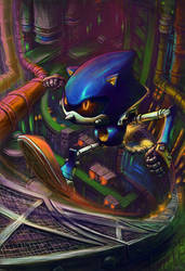 Metal Sonic by thurZ