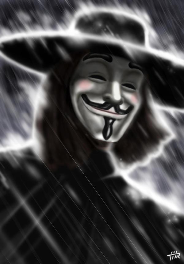 v for vendetta by thurZ