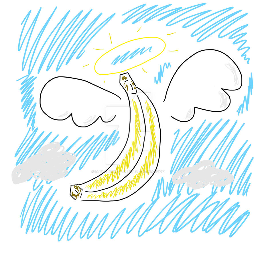 Banana Angel by PrincesaNamine