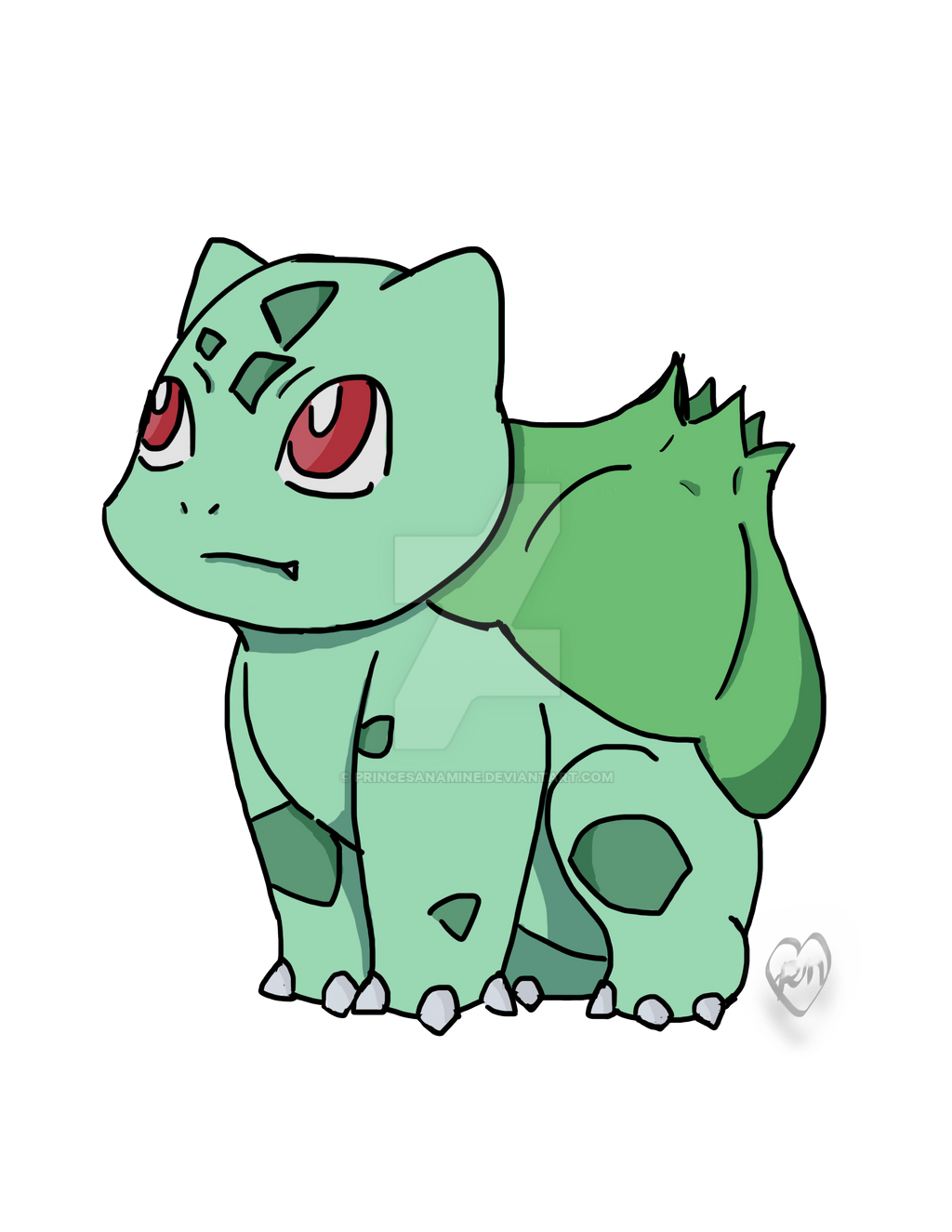 Bulbasaur by PrincesaNamine