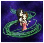 FFVII - Tifa and Aerith