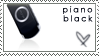 PSP Stamp - Piano Black by hatenaki-yume