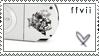 PSP Stamp - FFVII Ed. by hatenaki-yume