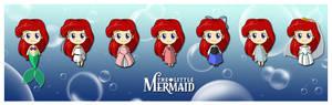 Nendoroid Ariel Costumes