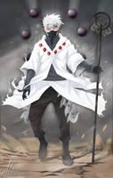 Hatake Kakashi, (Rikudo Mode) by ArgyraChersonese