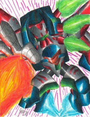 1999- Omega Boost by Eric-3 on DeviantArt