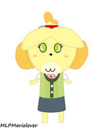 SSBU - Isabelle (Jewelpet Style)