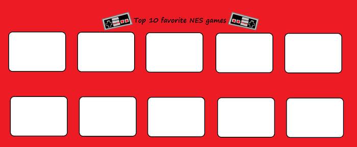 Top 10 Favorite NES Games (Template)