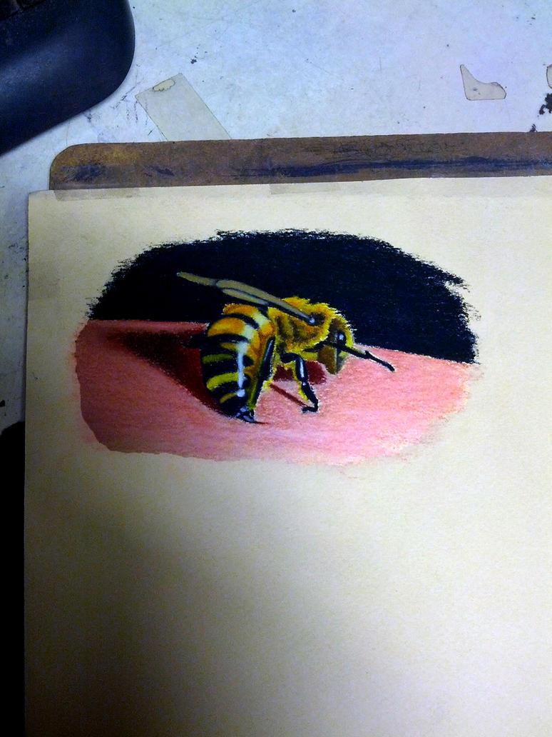 Killer Bee sting by Bobby-castaldi-art