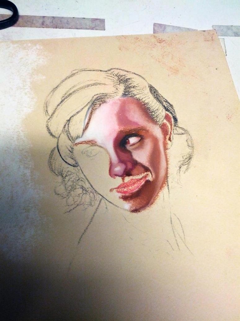 wip (working progress) by Bobby-castaldi-art