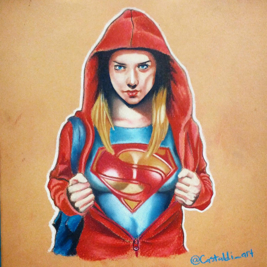 Super Girl by Bobby-castaldi-art