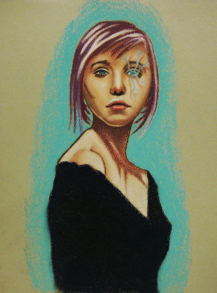 Electric blue by Bobby-castaldi-art