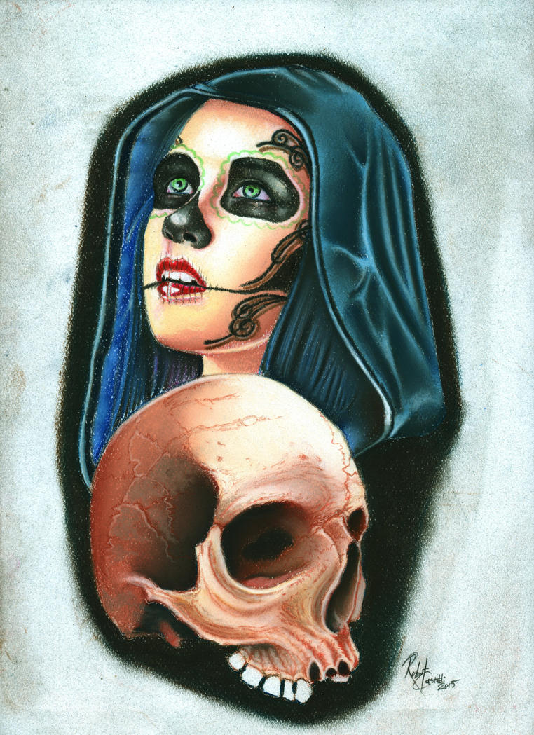 Day of the dead by Bobby-castaldi-art