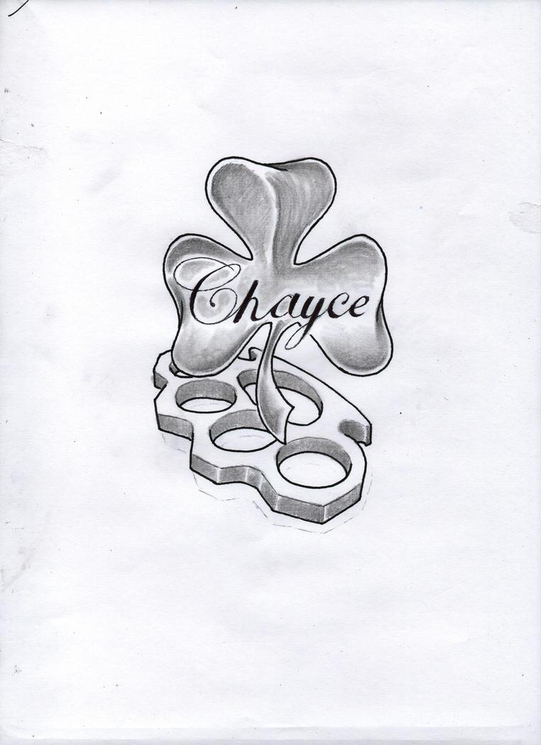 Chayce shamrock tattoo design by Bobby-castaldi-art