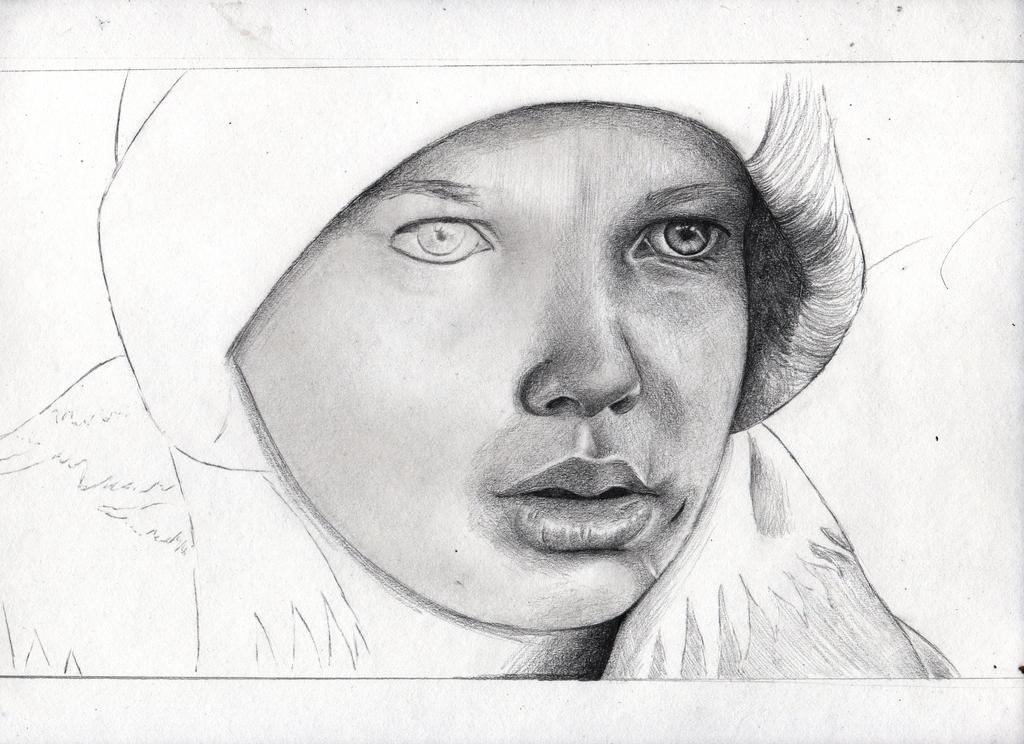 The Road- Kodi Smit-Mcphee- drawing progress by Bobby-castaldi-art